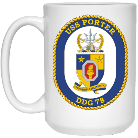 USS Porter DDG 78 Coffee Mugs