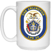 Image of USS Arlington LPD 24 Coffee Mugs