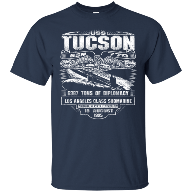 USS TUCSON SSN 770 T Shirts and Hoodies