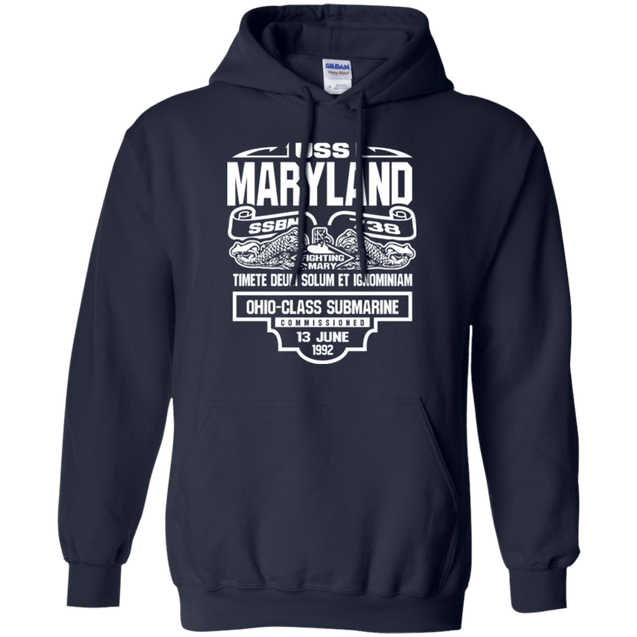 USS MARYLAND SSBN-738 T Shirt and Hoodies