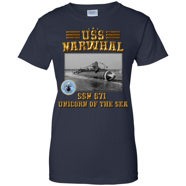 USS NARWHAL SSN 671 T Shirts and Hoodies