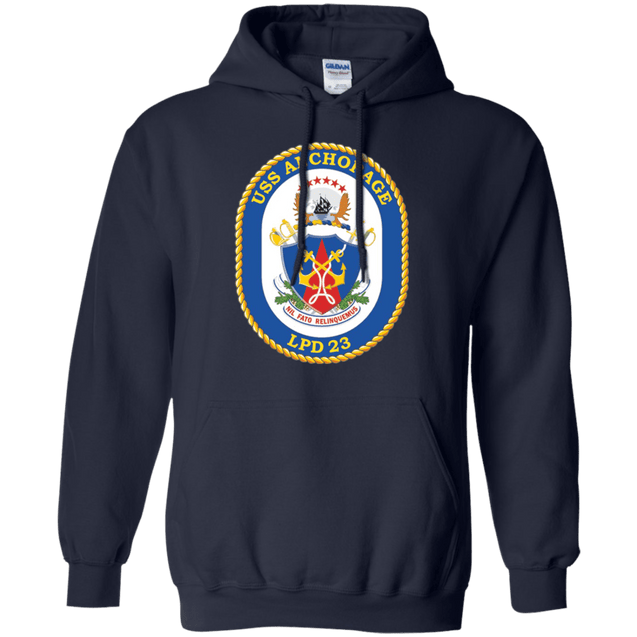 USS ANCHORAGE LPD 23 T Shirts and Hoodies