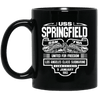 USS SPRINGFIELD SSN-761 Coffee Mugs
