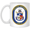 Image of USS San Antonio LPD 17 Coffee Mugs