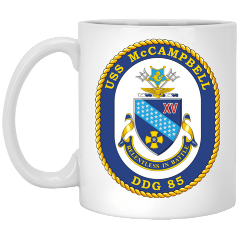 USS McCampbell DDG 85 Coffee Mugs