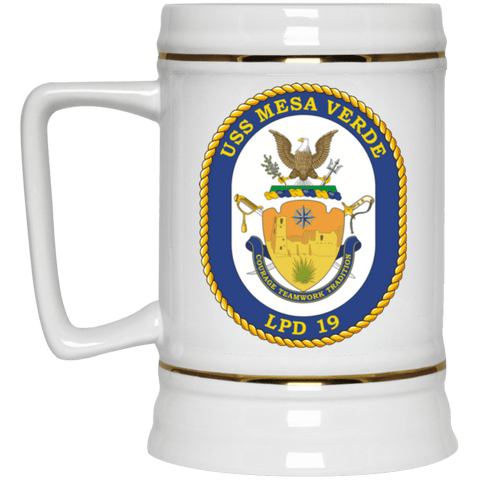 USS Mesa Verde LPD 19 Coffee Mugs