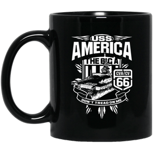 USS America CVA/CV 66 Coffee Mugs