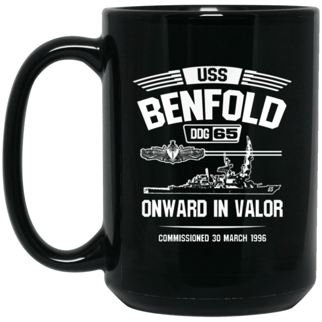 USS BENFOLD DDG-65 Coffee Mugs