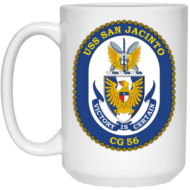 USS San Jacinto CG-56 Coffee Mugs