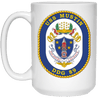 USS Mustin DDG 89 Coffee Mugs