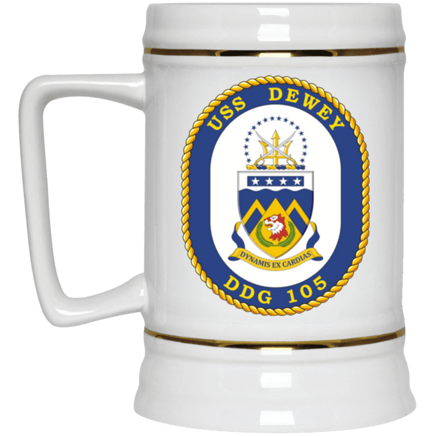 USS Dewey DDG 105 Coffee Mugs