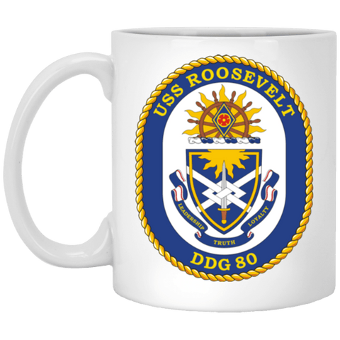 Image of USS Roosevelt DDG 80 Coffee Mugs