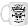 Image of USS Dwight D. Eisenhower CVN-69 Coffee Mugs