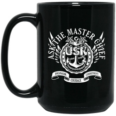Master Chief USN Coffee Mugs