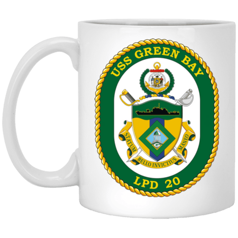 USS Green Bay LPD 20 Coffee Mugs