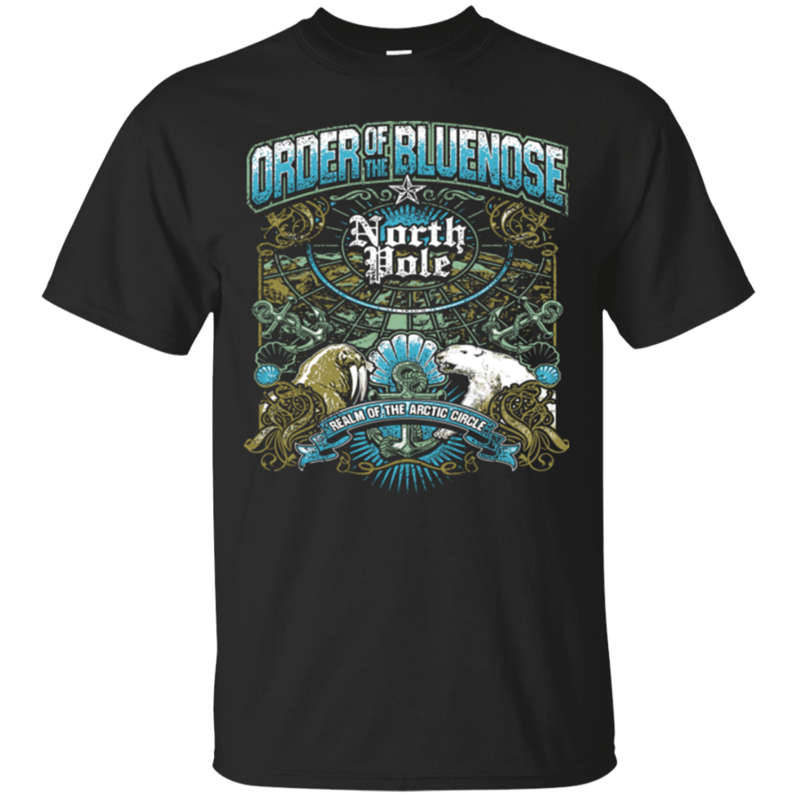 ORDER OF THE BLUE NOSE T Shirts and Hoodies