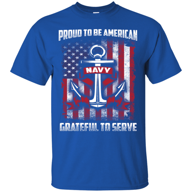 PROUD TO BE AMERICAN NAVY T Shirts and Hoodies