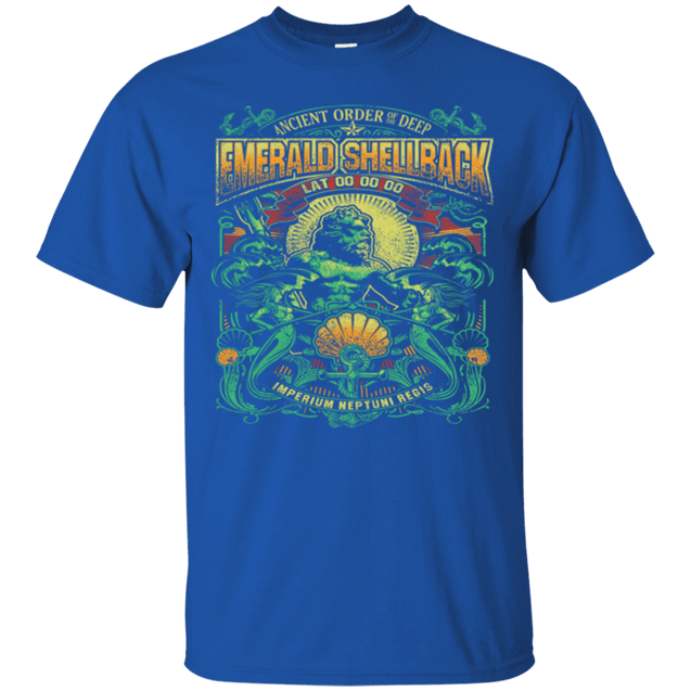 EMERALD SHELLBACK IN COLOR T Shirts and Hoodies