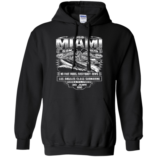 USS MIAMI SSN 755 T Shirts and Hoodies