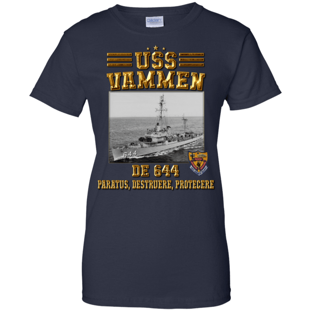USS Vammen DE 644 T Shirts and Hoodies