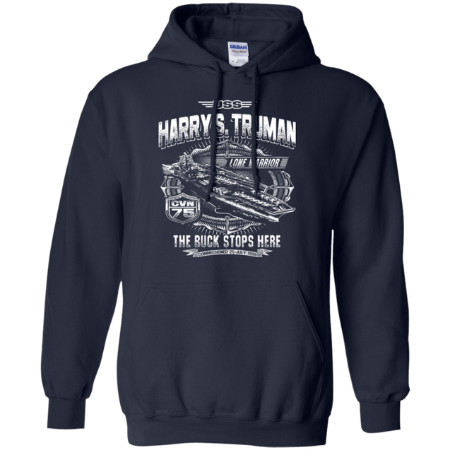 USS Harry S Truman CVN 75 T Shirts and Hoodies