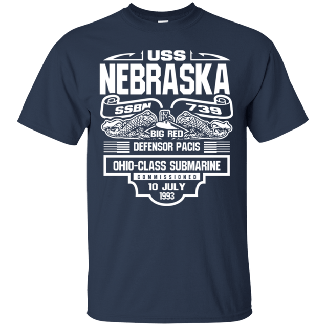 USS NEBRASKA SSBN-739 T Shirt and Hoodies