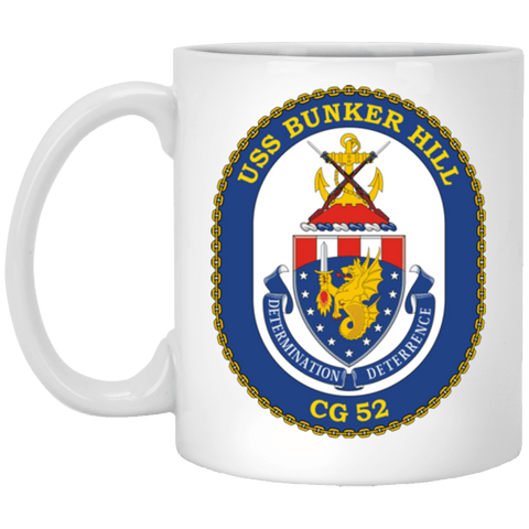USS Bunker Hill CG 52 Mugs and Steins