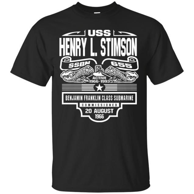 USS HENRY L. STIMSON SSBN-655 T Shirt and Hoodies