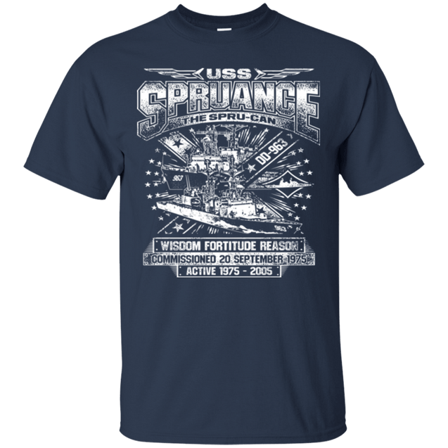 USS Spruance DD 963 T Shirts and Hoodies