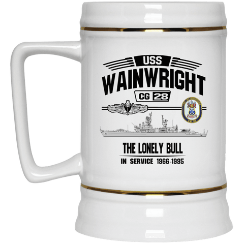Image of USS Wainwright CG 28 Coffee Mugs and Stein