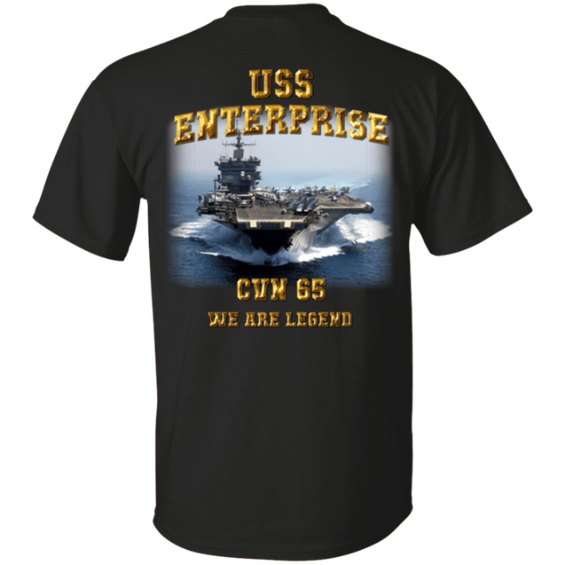 USS Enterprise CVN 65 T Shirt