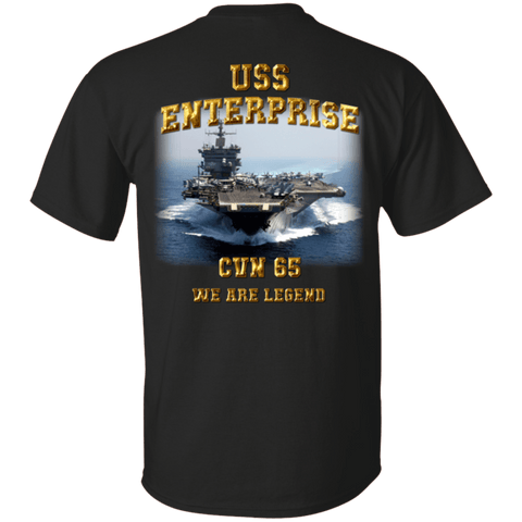 Image of USS Enterprise CVN 65 T Shirt
