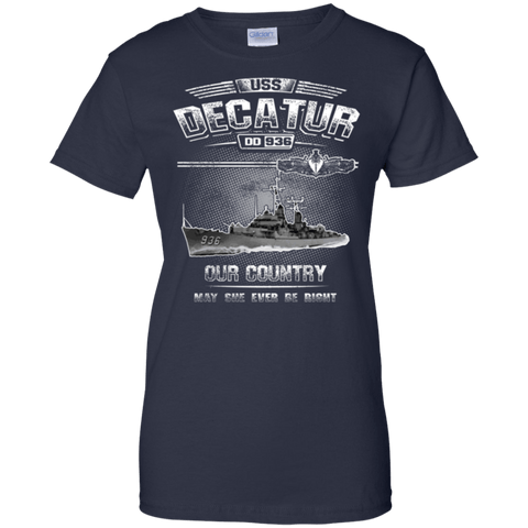 USS Decatur DD 936 T Shirts and Hoodies
