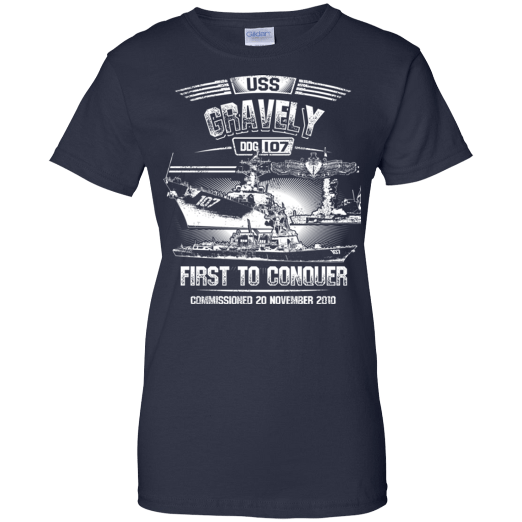 USS Gravely DDG 107 T Shirts and Hoodies