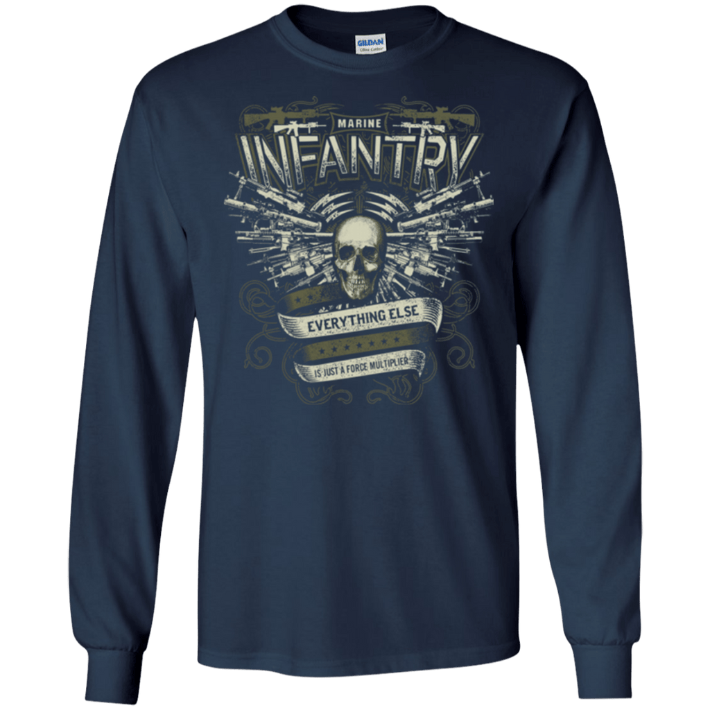 MARINE INFANTRY T Shirts and Hoodies
