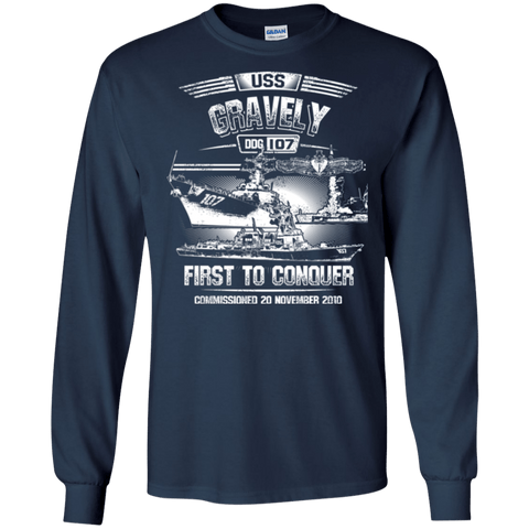 Image of USS Gravely DDG 107 T Shirts and Hoodies