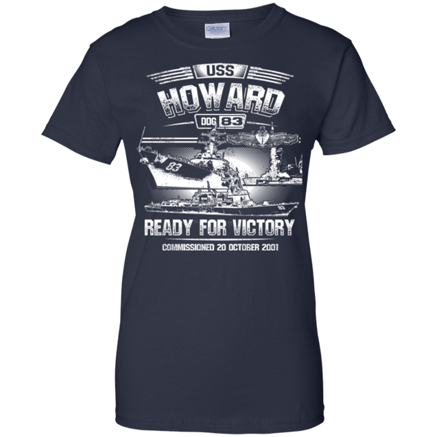 USS Howard DDG 83 T Shirts and Hoodies