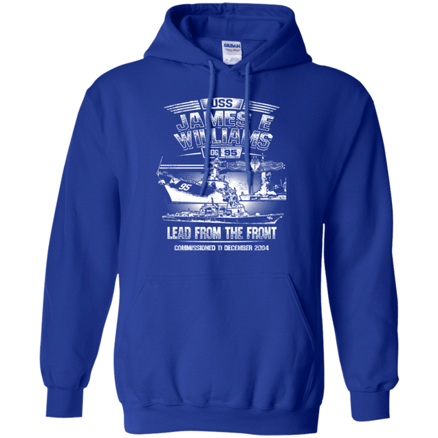 USS James E Williams DDG 95 T Shirts and Hoodies