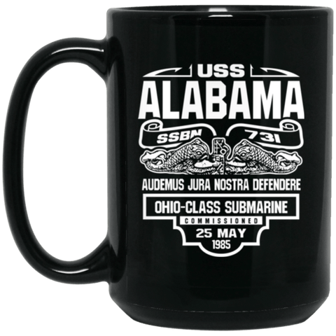 USS ALABAMA SSBN-731 Coffee Mugs