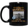 USS NARWHAL SSN 671 Coffee Mugs
