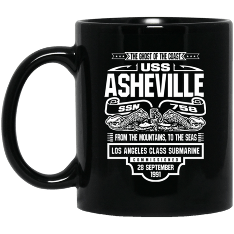 USS ASHEVILLE SSN-758 Coffee Mugs