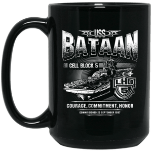 USS BATAAN LHD 5 Coffee Mugs