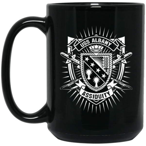 USS ALBANY Coffee Mugs