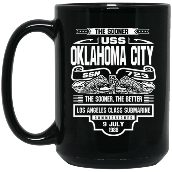 USS OKLAHOMA CITY SSN-723 Coffee Mugs
