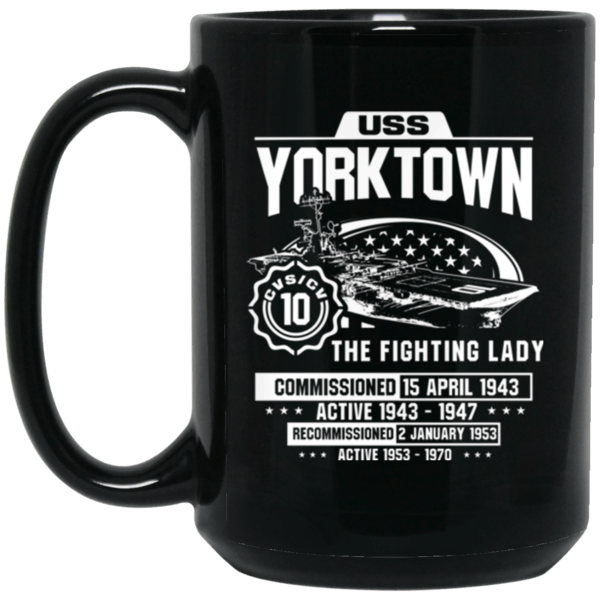 USS YORKTOWN CVS/CV 10  Coffee Mugs