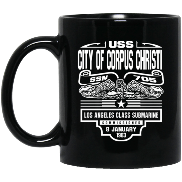 USS CITY OF CORPUS CHRISTI SSN-705 Coffee Mugs