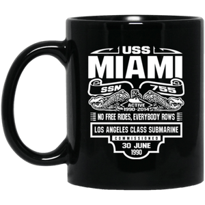 USS MIAMI SSN-755 Coffee Mugs
