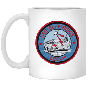 USS Blue Ridge LCC 19 Coffee Mugs