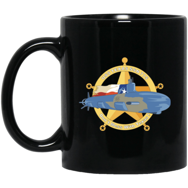 USS Texas SSN 775 Coffee Mugs