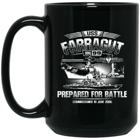 Image of USS Farragut DDG-99 Coffee Mugs
